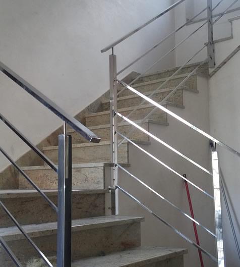 Barandas de acero inoxidable precios barandas de acero - Barandas de escaleras ...